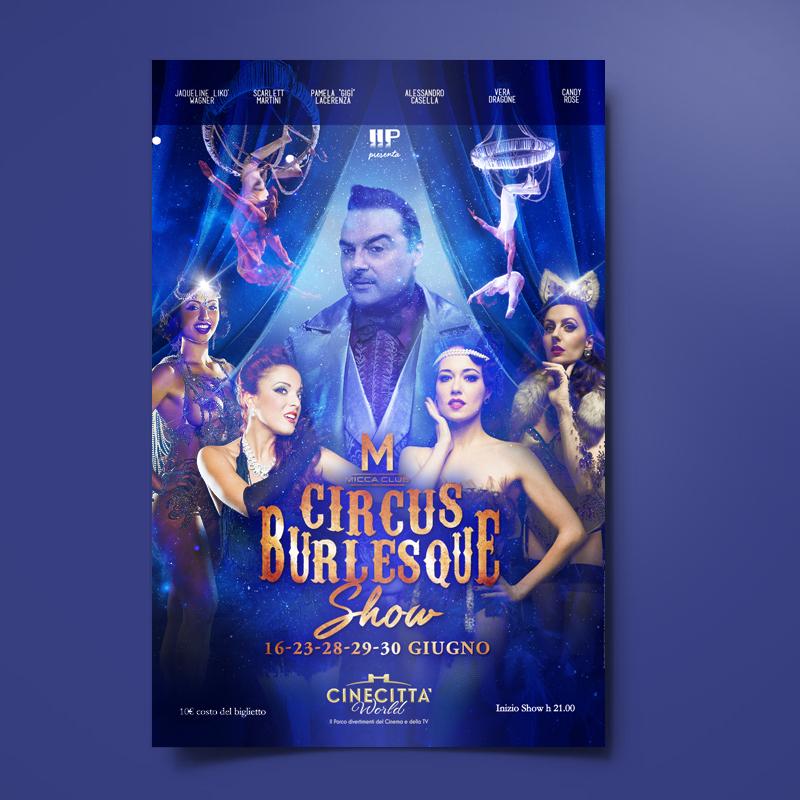 Circus Burlesque Show